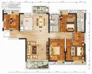 御江壹品・青山印4室2厅2卫153平方米户型图