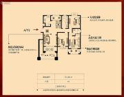 幸福里3室2厅2卫125平方米户型图