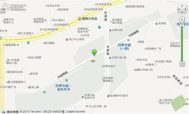 四季华庭·阳光华府交通图