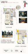 锦都华庭3室2厅2卫122平方米户型图