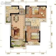 阳光城・甜橙2室2厅1卫84平方米户型图