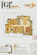 高铁3号5室2厅2卫193平方米户型图