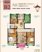 绿地新都会4室2厅2卫115平方米户型图