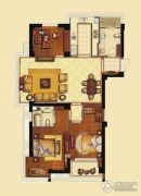 海洲新天地广场3室2厅2卫148平方米户型图