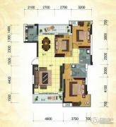 冠亚・国际星城3室2厅2卫124平方米户型图