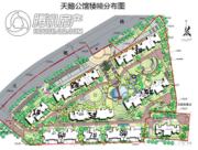 国华・天鹅池公馆规划图