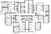 天健水榭花都2室1厅1卫85平方米户型图