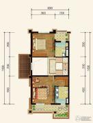 三盛国际城3室2厅4卫181平方米户型图