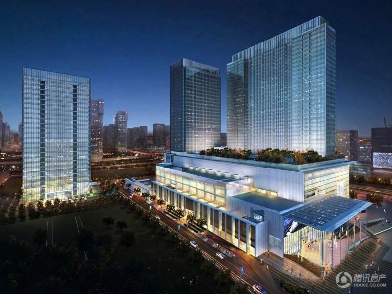 绿城京杭广场效果图