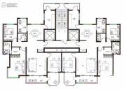 天健水榭花都2室2厅1卫168平方米户型图
