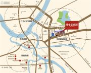 隆生皇冠花园交通图