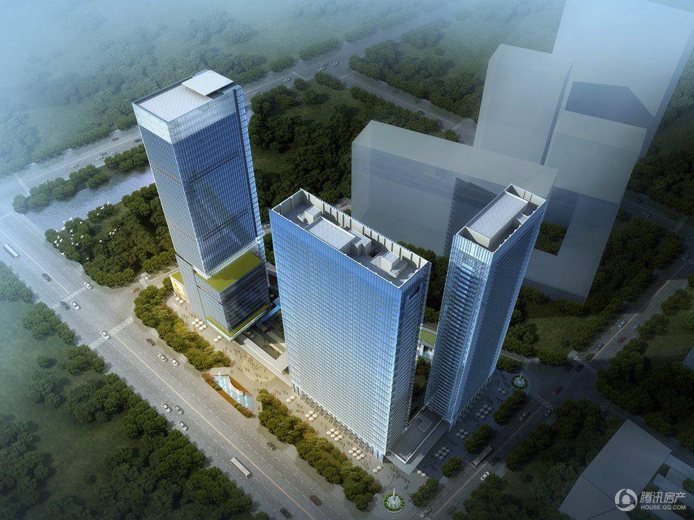 碧桂园深蓝国际中心效果图