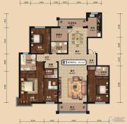 中关国际4室2厅3卫0平方米户型图