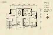 沿海馨庭3室2厅2卫123平方米户型图