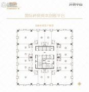 河北国际商会广场50--1200平方米户型图
