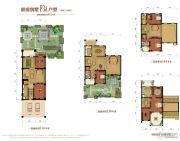 金昌启亚・白鹭金岸4室3厅4卫442平方米户型图