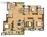 佳源都市4室1厅2卫0平方米户型图