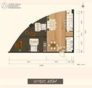 东瑞怡ONE公寓规划图