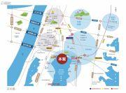 楚天都市沁园交通图