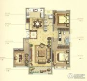 御赵金台3室2厅1卫160平方米户型图