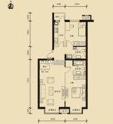 九星国际e世界2室2厅2卫116平方米户型图