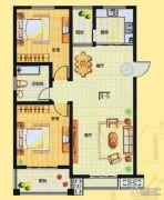 融通香槟小镇2室2厅1卫0平方米户型图