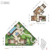 石梅半岛4室3厅4卫163平方米户型图