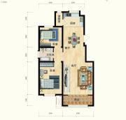 清水湾・幸福枫景2室2厅1卫0平方米户型图