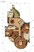 钱塘大观3室2厅2卫0平方米户型图