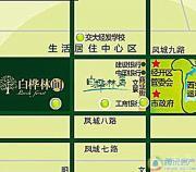 白桦林居交通图