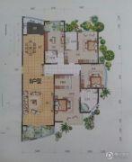 黄金国际4室2厅3卫253平方米户型图