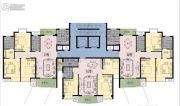 嘉业・城市花园1室1厅1卫0平方米户型图