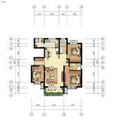 嘉亿国际3室2厅1卫132--138平方米户型图