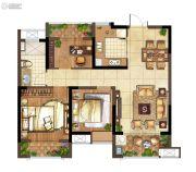 弘阳上水2室2厅1卫86平方米户型图