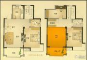 北城名郡3室2厅2卫136平方米户型图