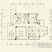 泰然南湖玫瑰湾4室3厅3卫198平方米户型图