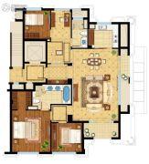 绿城・�Z园7室4厅4卫180平方米户型图