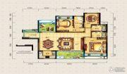 宝安・山水龙城3室2厅3卫139平方米户型图