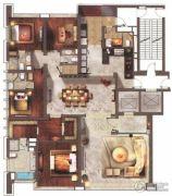 仁恒滨海中心3室2厅3卫307平方米户型图