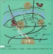 时代花城交通图