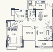 怡泰雅苑3室2厅2卫93平方米户型图