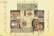 榕江明珠4室2厅2卫196--198平方米户型图