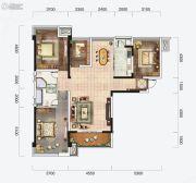 云星钱隆首府4室2厅2卫140平方米户型图