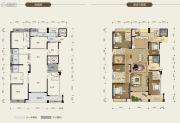 荣和公园尊府6室2厅5卫336平方米户型图