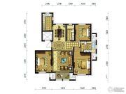 水韵豪庭3室2厅2卫141平方米户型图