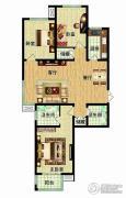 燕西台3室2厅2卫127平方米户型图