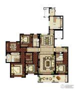 华润悦府5室2厅3卫237平方米户型图