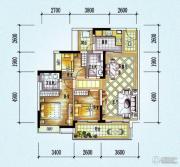 保利西海岸3室2厅2卫96平方米户型图