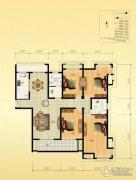 金通桂园 高层4室2厅2卫175平方米户型图