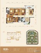 盛科城5室2厅2卫141平方米户型图